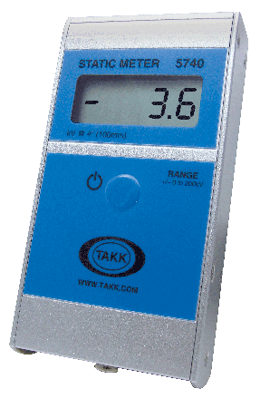 Handheld LED static meter is the leader in its class for analysis of static problems